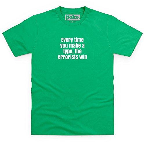Typo T-Shirt, Herren Keltisch-Grn