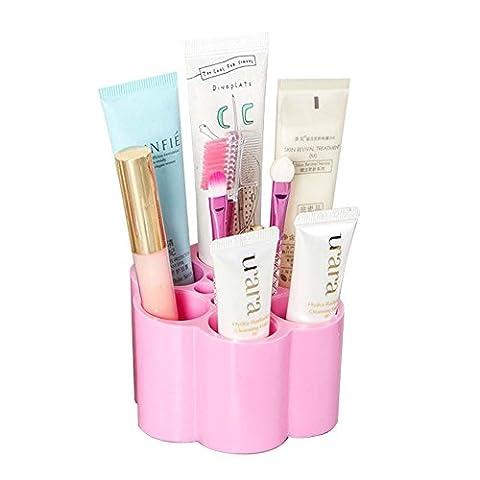 Mode Maquillage Brosse Support Support de rouge à lèvres Cosmétique Egouttoir Organiseur Cosmétique étagère Outil