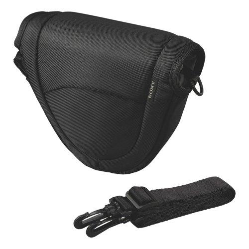 Sony LCS-EMC Housse de Protection pour Appareil Photo NEX 5,5C,3 / SEL 1855 - Noir