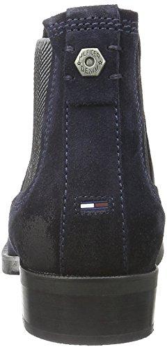Hilfiger Denim - A1385vive 12b, Stivali bassi con imbottitura leggera Donna Blu (Blu (MIDNIGHT 403))