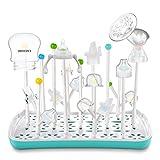 Termichy Abtropfgestell Babyflaschen, Trockenständer für Flaschen, Saugern, Bechern und Zubehör, BPA-frei