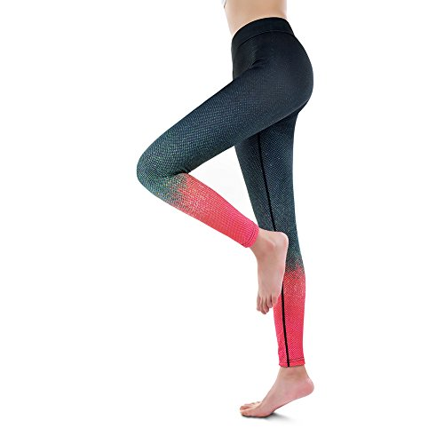 Fitibest Damen Sport Leggings,Fitness Yoga Gym Laufen Hose Navy