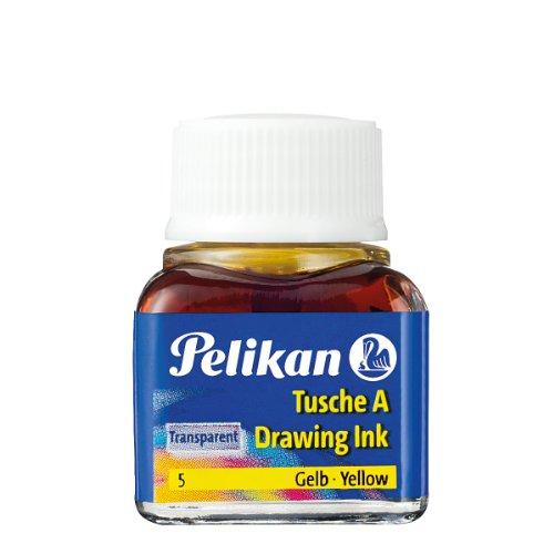 Pelikan A 523 Tusche A, 10 ml, gelb