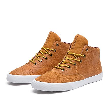 Supra, Sneaker uomo Light Brown Yellow White