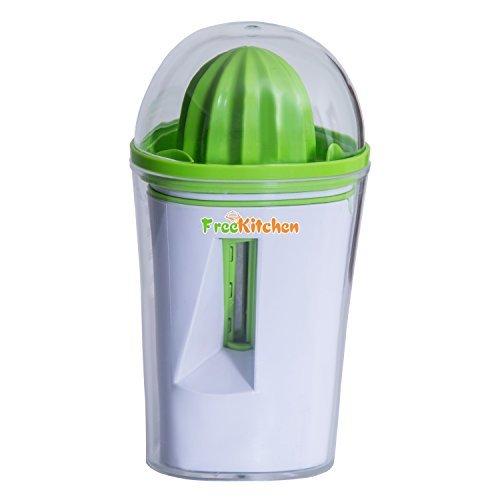 Premium Spiralschneider - inklusiv hochwertiger manueller Saftpresse - Unser Gemüseschneider zaubert aus Zucchini, Möhren und Gurken im Handumdrehen appetitliche Spiralen für Ihre gesunde Ernährung.