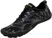 SAGUARO Barefoot Minimalistische Trailrunning Schoenen Heren Dames Lichtgewicht Sportschoenen voor Sportschool