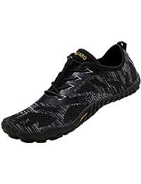 SAGUARO Chaussures de Trail Running Homme Femme Chaussures Minimalistes Chaussures de Sport Outdoor & Indoor Gym Fitness Randonnée Escalade Marche Barefoot Shoes Chaussures Aquatiques