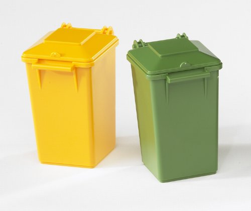 Image of Bruder Accessories Garbage Can Set