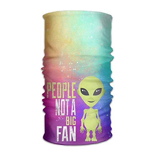 cdd42d68e1a Funny Alien Quote Headwear For Men And Women-Yoga Sports Travel Workout  Wide Headbands