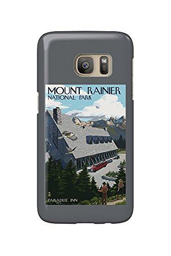 Mount Rainier National Park, Washington - Paradise Inn (Galaxy S7 Cell Phone Case, Slim Barely There) -