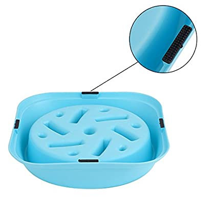 Slow Feed Dog Bowl, Clevero Durable Preventing Choking Dog Interactive Fun Feeder Bloat Stop Slow Eating Pet Bowl with… 3