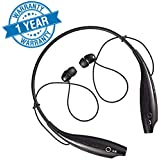 HBS-730 Jogger Wireless Bluetooth in-Ear Headphone with Mic, Magnetic Earbuds, Neck-Band for All Bluetooth Handsets