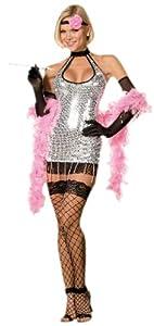 DreamGirl - Disfraz de cabaret para mujer, talla L (5112L)