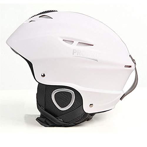 Gski Männer Oder Frauen Skihelm Ultraleicht Skihelm CE Zertifizierung ABS + EPS Snow Skateboard Ski Snowboard Helm,2,M