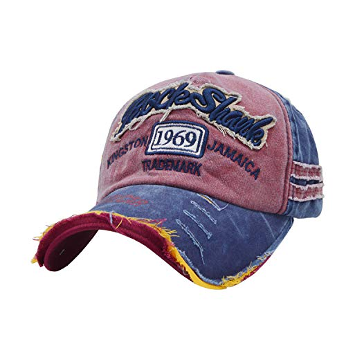 iParaAiluRy Baumwolle Baseball Cap, Basecap Unisex Baseball Kappen, Baseball Mützen...