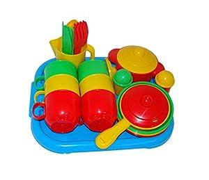 Polesie Polesie54913 - Batería de Cocina de Juguete para 6 bandejas