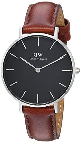 Daniel Wellington Women's Analogue Quartz Watch with Leather Strap DW00100181
