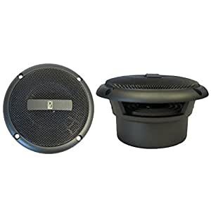 "POLY-PLANAR MA3013G GREY 3"" FLUSH MOUNT SPEAKERS"