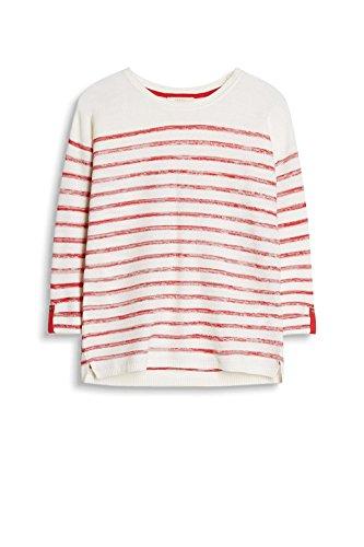 ESPRIT Damen Pullover Mehrfarbig (Berry Red 625)