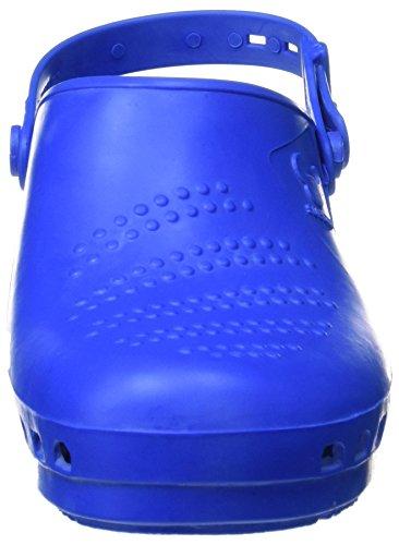 Balsamo Suecos, Scarpe Antinfortunistiche Per Donna, Blu Bianco (blu)