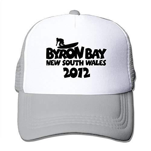 Byron Bay 2012 Big Foam Mesh Truck Cap Mesh Back Adjustable Cap -