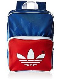 adidas Archive BP AC Mochila, Unisex Adulto, (Azul/Rojo), 24x36x45