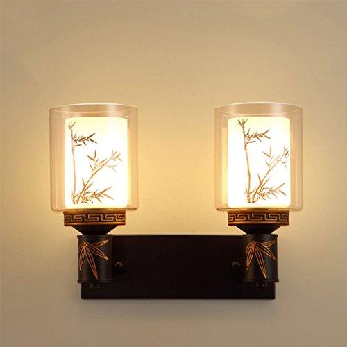 WYQLZ Style Chinois Applique Chambre Chevet Salon Allée Escaliers Simple Vintage Décoration Suspendue Lumière