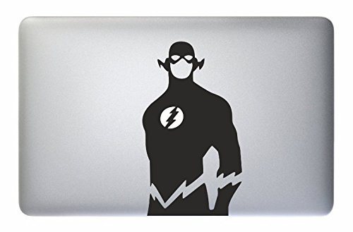 Just Go Online Aufkleber MacBook The Flash - Barry Allen - Apple MacBook Laptop Decal Sticker Superhero Vinyl Love Mac Pro Air Retina 11