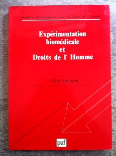 Expérimentation biomédicale et droits de l'homme