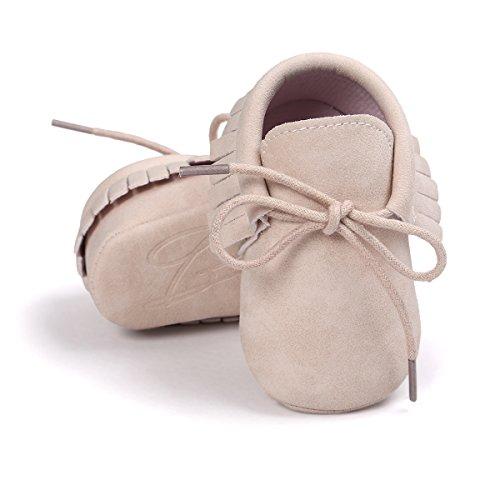RVROVIC , Baby Jungen Lauflernschuhe Babyschuhe Mädchen Quasten Sneakers Casual rutschfeste Schuhe
