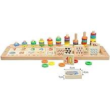 Holzspielzeug pädagogische Lernspiele Spielzeug Alphabet puzzle Kinderspielzeug zum Lernen