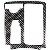 Panel de Fibra de Carbono Holder Copa Cubre el reemplazo para Mercedes W204 W212 2007-