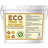 ECO Terre de Diatomee Micronisée 5kg   Non Calcinée   Alimentaire E551c   Soluble dans l'eau   100% Naturel et écologique   N