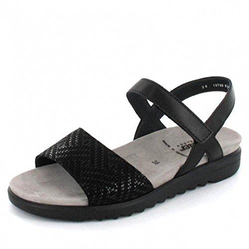 Semler  E5015-392-001, Sandales pour femme Noir