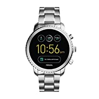 FOSSIL Gen 3 Smartwatch Q Explorist Stainless Steel / Men's Smartwatch Compatible with Android and iOS - Activity Tracker, Smartphone Notifications, Water resistant