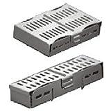 comdent 28–2410–5bandeja de cassette esterilización para 5instrumentos