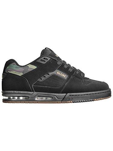 Globe Fury, Chaussures De Skate Noir Pour Homme Camo