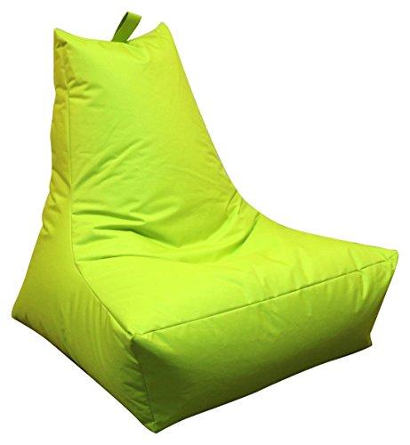 Mesana XXL Lounge-Sessel, ca. 100x90x80 cm, Sitzsack für Outdoor & Indoor, wasserabweisend, viele...