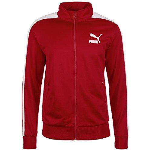 Puma Archive T7 Track jacket Jacke hombre, Hombre, Archive T7 Track Jacket,  Red