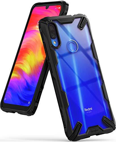 Ringke Fusion-X Diseñado para Funda Redmi Note 7, Funda Redmi Note 7 Pro Protección Resistente Impactos Carcasa para Xiaomi Redmi Note 7, Xiaomi Redmi Note 7 Pro (2019) - Black
