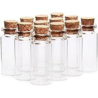 Transparente vacío botellas de 10 ml botella de vidrio viales 50 * 22 mm boda fiesta