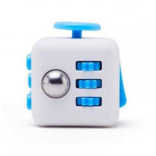 Preisvergleich Produktbild Qualität Blau Weiß zappeln Cube Spielzeug Angst Stress Aufmerksamkeit Relief
