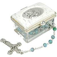 Set, scatola rosario angolare, angelo con il