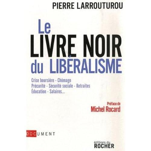 Le livre noir du libéralisme