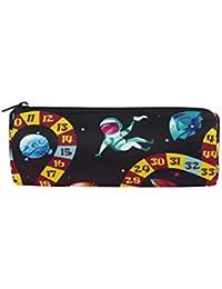 Bonie Kids Play Astronaut Planet Rocket - Estuche para lápices y bolígrafos con cremallera