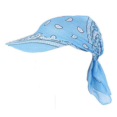 JUTOO Visier-Hut-Sonnenhut der Mode-Frauen Gedruckter Kopftuch halten warme Kappe Topee (Und Kangol-hüte Rot Schwarz)