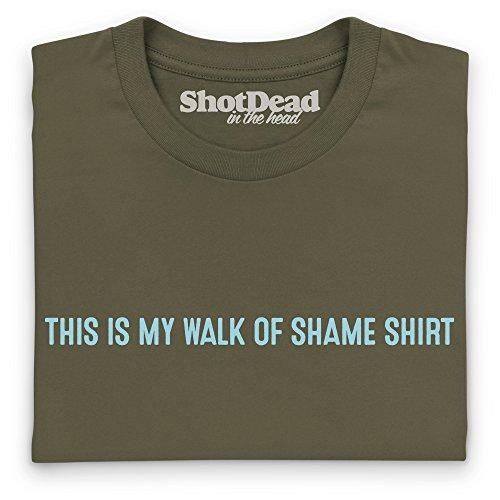 Walk Of Shame Guys T-Shirt, Herren Olivgrn