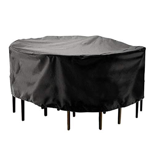 ACORRA Möbel Set Umfasst 72 Zoll Durchmesser Staubdicht Anti Fading Wasserdicht Uv Beständig Abdeckungen für Patio Outdoor Stühle Runde Tische - Deckt Stuhl Leder