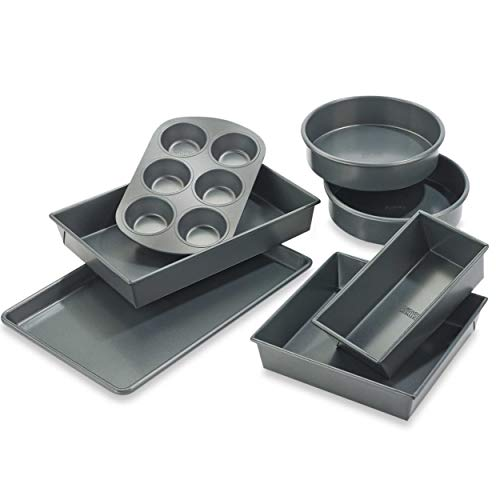 Chicago Metallic Professional 7-piece Non-Stick Bakeware Set -