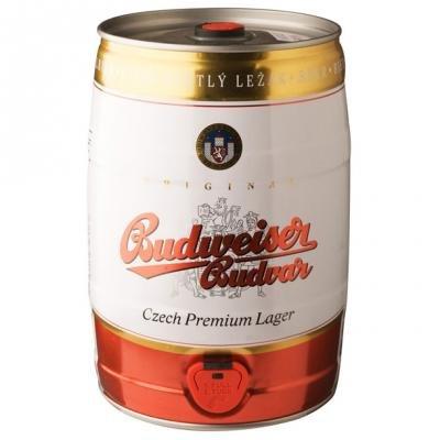 Fût 5L Budweiser Budvar